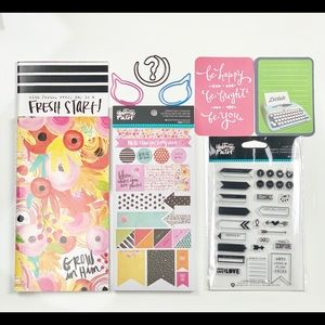 Other - Traveler's Notebooks, clear stamps, Stickers